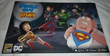 SDCC 2016 EXCLUSIVE FOX DC FAMILY GUY THE QUEST FOR STUFF POSTER