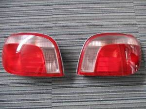 JDM 2001 Toyota Echo Vitz Yaris Taillights Tail Lights Rear Lamps Set OEM