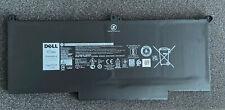 Original Dell Latitude 12 7280 7380 7480 7380 7490 60Wh Batterie 0F3YGT F3YGT