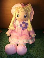 Maison de poupées miniatures échelle 1//12th Rose Vichy Literie Set D1047P