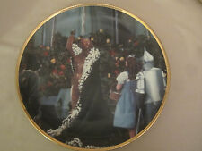 King Of The Forest collector plate Wizard Of Oz 50th Anniversary Blackshear