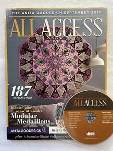 Anita Goodesign ALL ACCESS VIP Club  September 2017 CD & BOOK