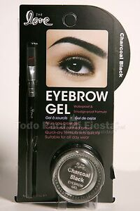 Eyebrow Gel + Brush Waterproof and Smudge proof Formula Gel para Cejas