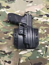 Black Carbon Fiber Kydex SIG P226R MK25 Holster