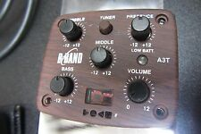 B-Band A3T Sidemount Preamp, Wood Color Faceplate, New