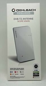 Oehlbach Scope Vision DVB-T2 HD Antenne, weiß B-Ware