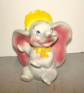 Vintage American Pottery Disney Baby Dumbo Figurine