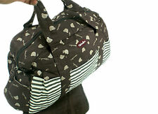 One Brown Desire Baby Diaper Nappy Changing Bag Set.Many Designs & Colours DesB