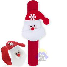 BRACCIALETTO di BABBO Natale REGALO Santa CLAUS Regolabile BAMBINI Bracciale KID