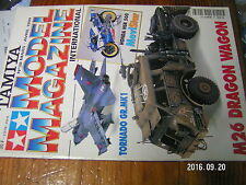 1µ?a Revue Tamiya Model Magazine n°38 NSR 500 M26 Dragon Wagon Tornado Mosquito