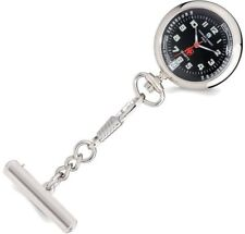 Charles Hubert Black Dial Nurse Watch w/ Pin