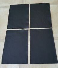"""Black leather Italian off cuts 9""""×6"""" offcuts You get 4 pieces 1.1mmThick"""