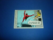 MARVEL COMICS SUPER HEROES trading card #24 DAREDEVIL Donruss 1966 MCG