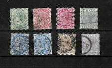 Malta, 1885 QV definitives, complete set with shades, used (M437)