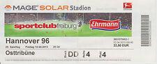 Ticket SC Freiburg - Hannover 96  1. Bundesliga Saison 2012/13