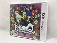 Nintendo 3DS Japan Ver. Persona Q Shadow Of The Labyrinth Works on Japanese 3DS