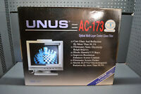 "Vintage new UNUS AC-173 17"" CRT screen monitor glass filter optical coating"