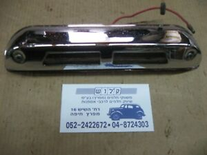 """Hino Contessa 1300 Chrome Number License Plate Light Lamp , 8.5"""" Long used"""