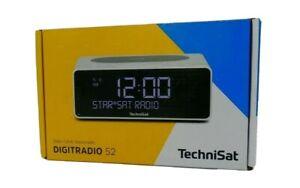✅ TECHNISAT DIGITRADIO 52 , Radiowecker schwarz, Bluetooth-Audiostreaming ✅