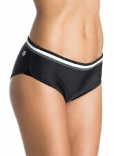 Roxy 1pc Black Good Sport pant Bikini bottom swimmers szS RRP$49.99 BNWT (22)