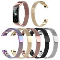 Magnetic Stainless Steel Wrist Watch Band Strap for Huawei Honor Band 5/CRS-B19