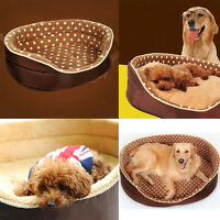 Pet Dog Cat Bed Comfortable Soft Double Sided Bed Available All Seasons 3 Sizes