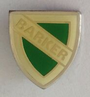 Barker School Badge Pin Rare Small Vintage (F1)