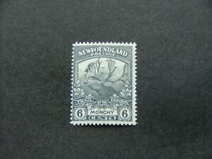 Newfoundland 1919 6c slate-grey SG135 MM