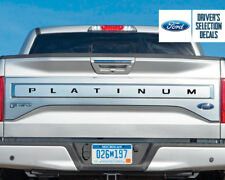 Ford F150 2018 PLATINUM Tailgate Overlay Decals 2018+ F150