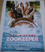 ZOOKEEPER MOVIE POSTER 2 Sided ORIGINAL Ver C 27x40 KEVIN JAMES