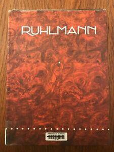 Ruhlmann - Florence Camard - Edition du Regard