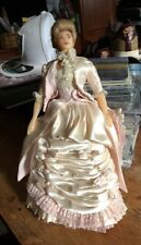 Antique Doll Wax Face/Hands/chest and Wooden Legs