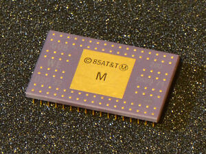 Vintage CPU, Bell Labs/Western Electric/AT&T DSP32,  first floating point DSP