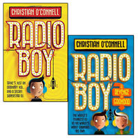 Radio Boy Series Christian O'Connell Collection 2 Books Set The Revenge of Grand