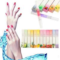12Pcs Huile Stylo Pinceau pour Ongles Cuticule Revitaliser Traitement Nail