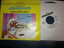 "1987 MUPPET BABIES Amadogus US Promo Pic Sleeve 7"" Columbia 38 07 404 NM/NM"