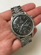 For Vintage Omega Speedmaster Moon Watch Faded Ghost Bezel 321 / 861