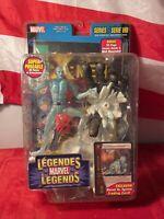 Marvel Legends Series 8 Ice Man Action Figure Toybiz