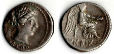 MARCUS PORCIUS CATO denier 89 av JC VICTOIRE ASSISE