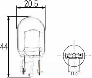 Bulb Indicator W21W 8GA008892-002 by Hella - 2 Units