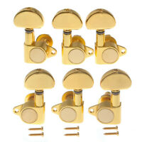 Acoustic Electric Guitar Tuning Peg Tuners Machine Heads Gold Keys Pegs 3L3R