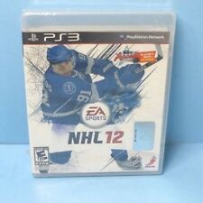 NHL 12 (Sony PlayStation 3, 2011) BRAND NEW FACTORY SEALED