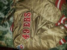 Vintage PRO LINE by Starter 1980's era SF 49ers satin jacket men's size large