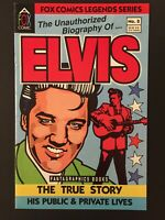 FOX COMICS LEGENDS SERIES The Unauthorized Biography of ELVIS #2 Fantagraphics