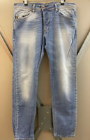 100% GENUINE DIESEL DARRON Designer REGULAR SLIM TAPERED JEANS Size W 33 L 32