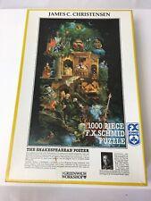 The Shakespearean Poster by James C. Christensen F. X. Schmid 1000 piece puzzle