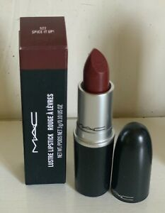 NEW! AUTHENTIC MAC LUSTRE LIPSTICK - SPICE IT UP! ( MULLED BROWN BERRY ) - SALE