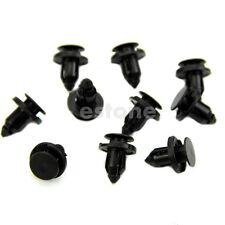 20 Pcs Fender Liner Plastic Fastener Rivet Push Clips 8mm Hole for Honda New