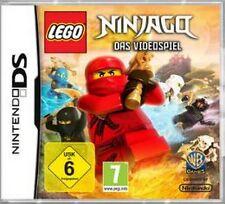Nintendo DS 3ds LEGO NINJAGO SCATOLA ORIGINALE COME NUOVO