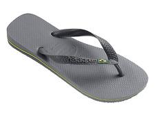 Havaianas Brasil 4000032 Infradito Unisex – adulto Grigio (steel Grey)
